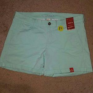 Arizona jeans green shorts